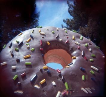 A doughnut as big as the sky